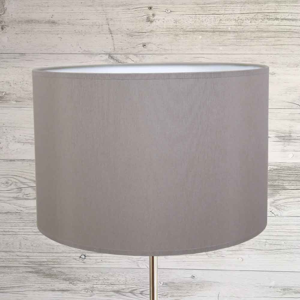 Drum Lampshade Grey